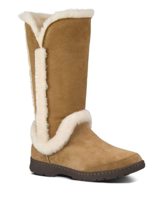 UGG | Brown Katia Waterproof Boots | Lyst