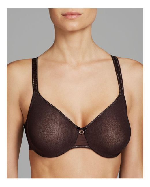 Chantelle | Black C Natural Unlined Seamless Molded Bra #2051 | Lyst