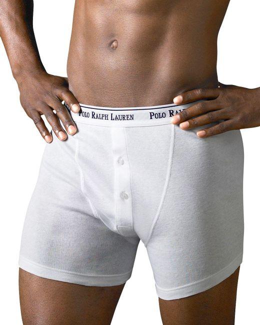 Polo Ralph Lauren | White Boxer Briefs, Pack Of 3 for Men | Lyst