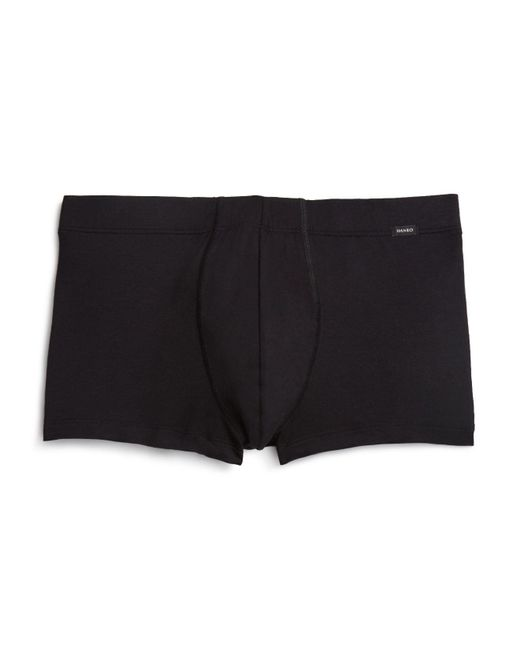 Hanro | Black Urban Touch Boxer Briefs for Men | Lyst