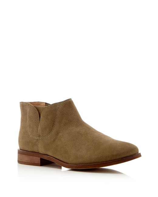 Splendid | Brown Paddy Ankle Booties | Lyst