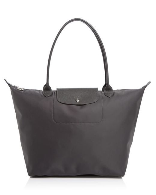 Longchamp Le Pliage Neo Large Tote In Multicolor Grey Lyst