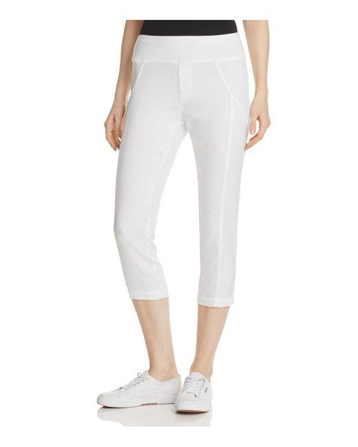 XCVI | White Adelle Capri Pants | Lyst