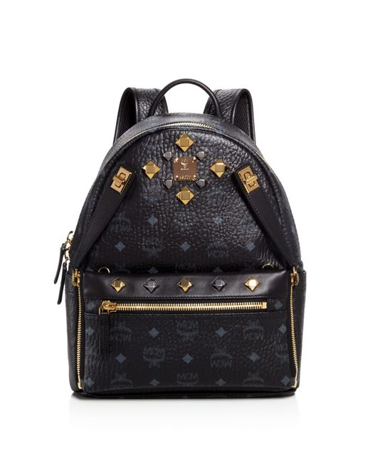 MCM   Multicolor Small Dual Stark Backpack   Lyst