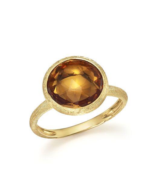 Marco Bicego | Metallic 18k Yellow Gold Jaipur Ring With Citrine | Lyst
