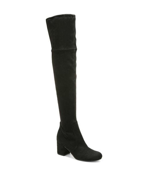 Sam Edelman   Black Women's Varona Stretch Over-the-knee Boots   Lyst