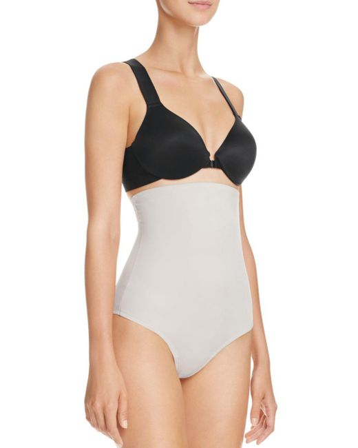 Tc Fine Intimates - Multicolor High-waisted Moderate Control Thong - Lyst