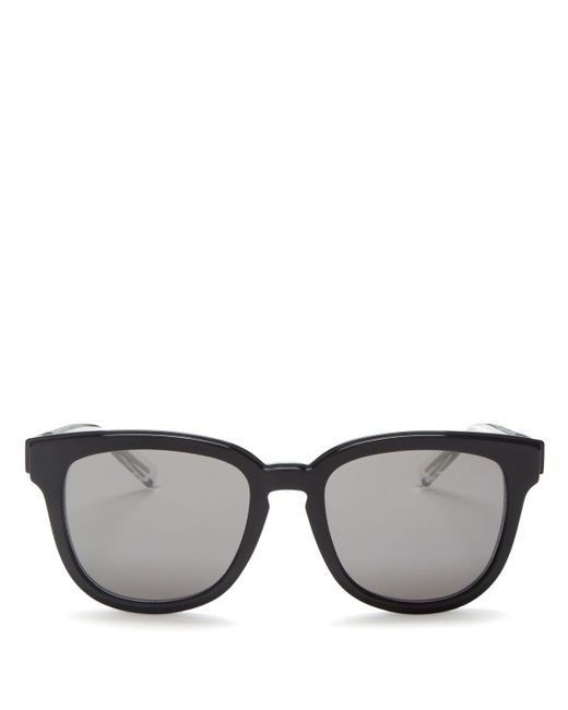 Dior Homme | Multicolor Black Tie 213 Rectangle Sunglasses, 52mm for Men | Lyst