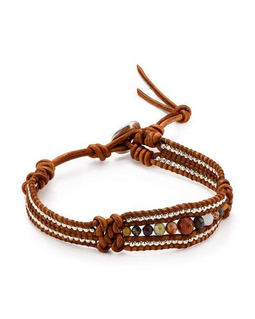 Chan Luu | Brown Seed Bead Single Bracelet | Lyst