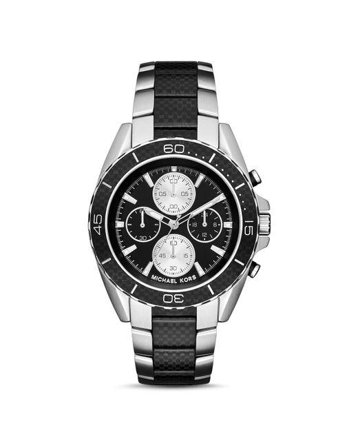 Michael Kors | Black Mk8371 Landaulet Bracelet Watch, Men's, Gunmetal for Men | Lyst