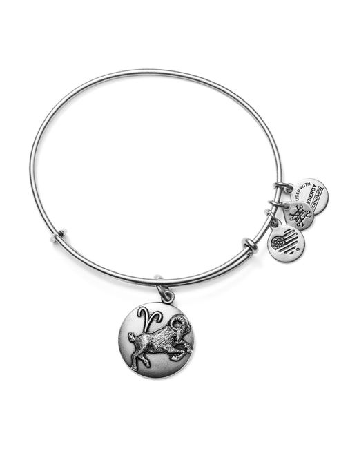 ALEX AND ANI | Metallic Aries Expandable Wire Bangle | Lyst