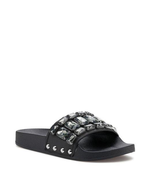Botkier - Black Women's Freda Embellished Slide Sandals - Lyst