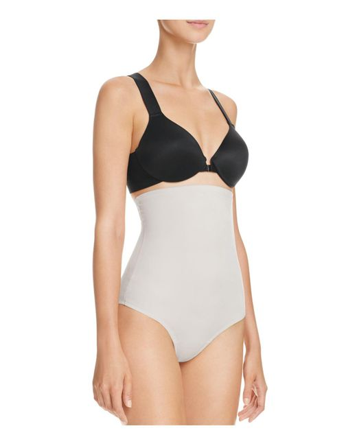 Tc Fine Intimates   Multicolor High-waisted Moderate Control Thong   Lyst