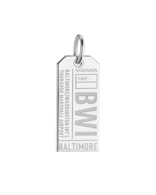 Jet Set Candy | Metallic Maryland Bwi Luggage Tag Charm for Men | Lyst