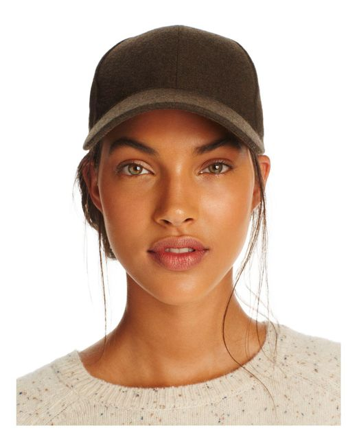 august hat company   Green Solid Baseball Cap   Lyst