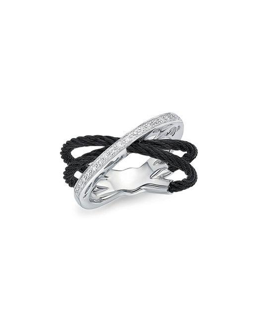 Alor | Black Diamond Multi-band Cable Ring | Lyst