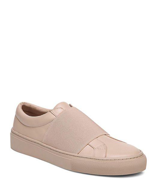 Via Spiga - Multicolor Women's Saran Leather Slip-on Sneakers - Lyst