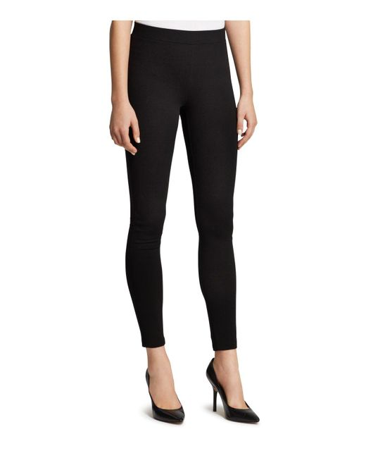 Theory - Black Leggings - Shawn C Fixture Ponte - Lyst