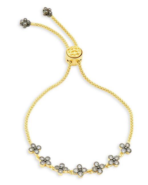 Freida Rothman - Metallic Clover Slider Bracelet - Lyst