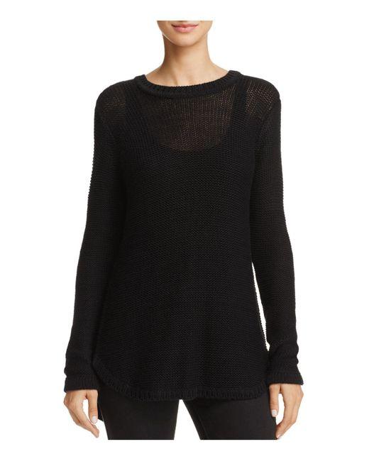 Aqua | Black Cross-back Sweater | Lyst