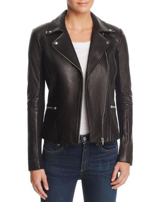 VEDA - Black Dallas Orion Leather Jacket - Lyst