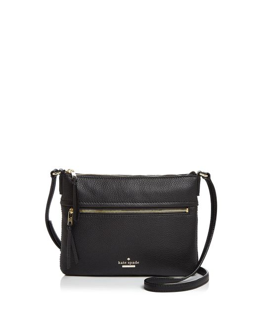 Kate Spade   Black Jackson Street Gabriele Leather Crossbody   Lyst