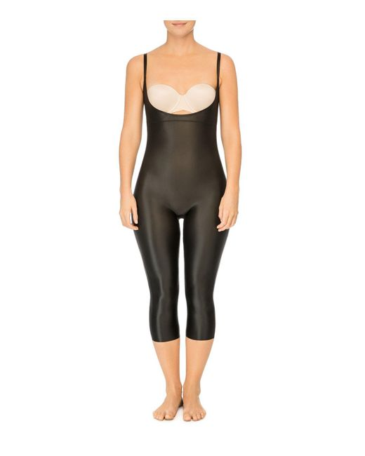 Spanx | Black Suit Your Fancy Plunge Open-bust Bodysuit | Lyst