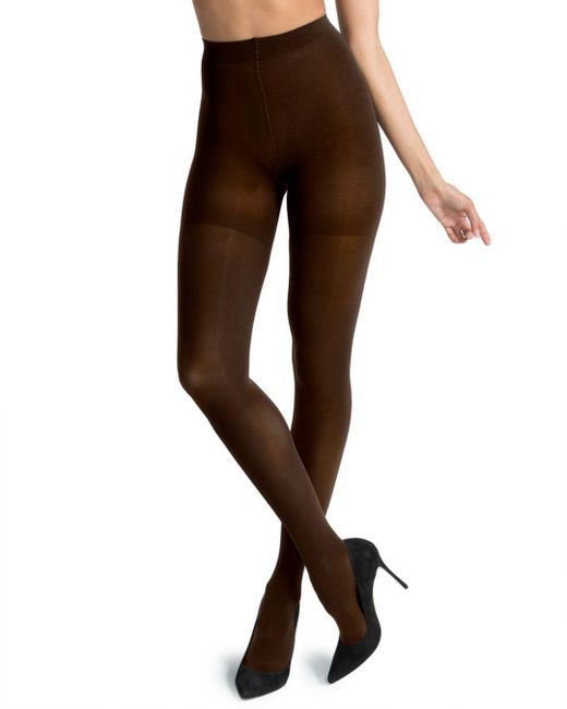 Spanx - Brown Luxe Leg Tights - Lyst