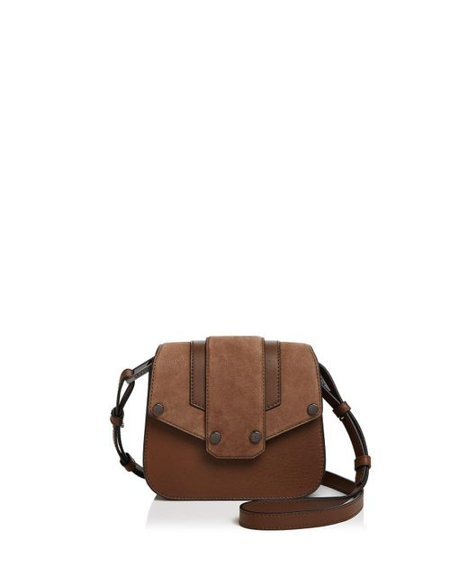 Mackage - Multicolor Poly Mini Nubuck And Leather Crossbody - Lyst