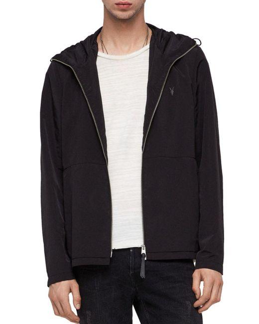AllSaints - Black Darley Jacket for Men - Lyst