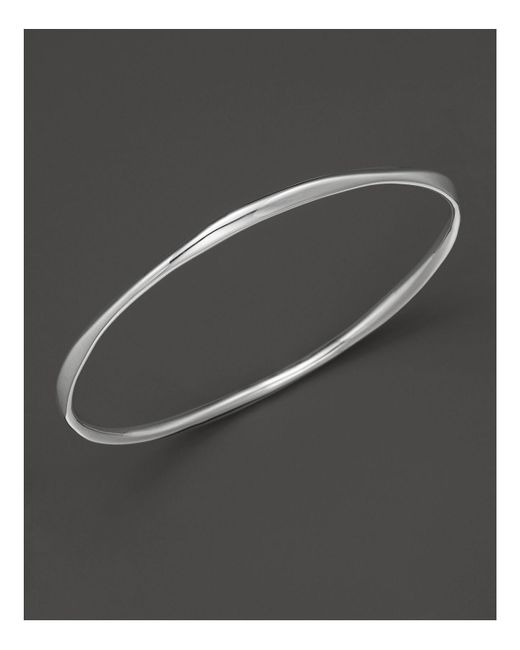 Ippolita | Metallic Sterling Silver Squiggle Bangle | Lyst
