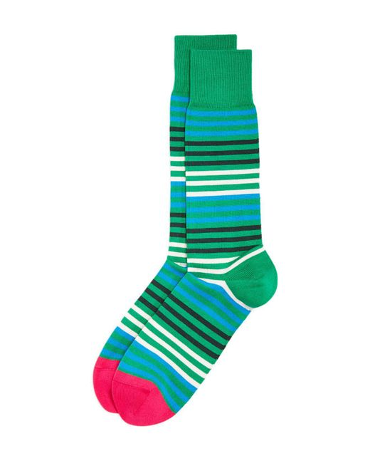 Paul Smith | Green Sanny Stripe Socks for Men | Lyst
