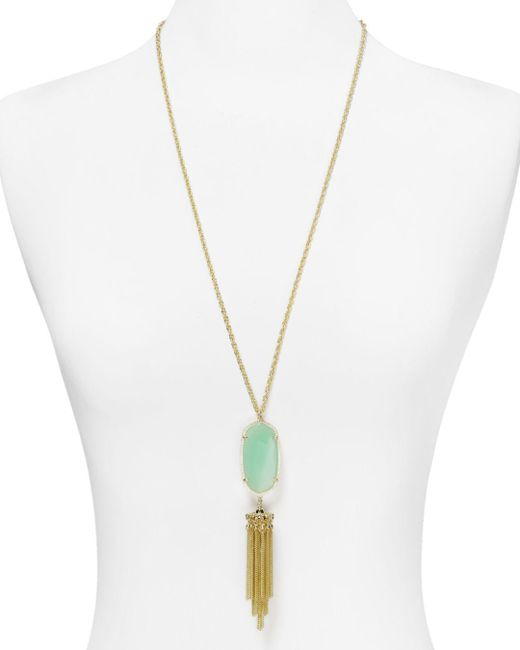 "Kendra Scott - Metallic 38"" - Lyst"