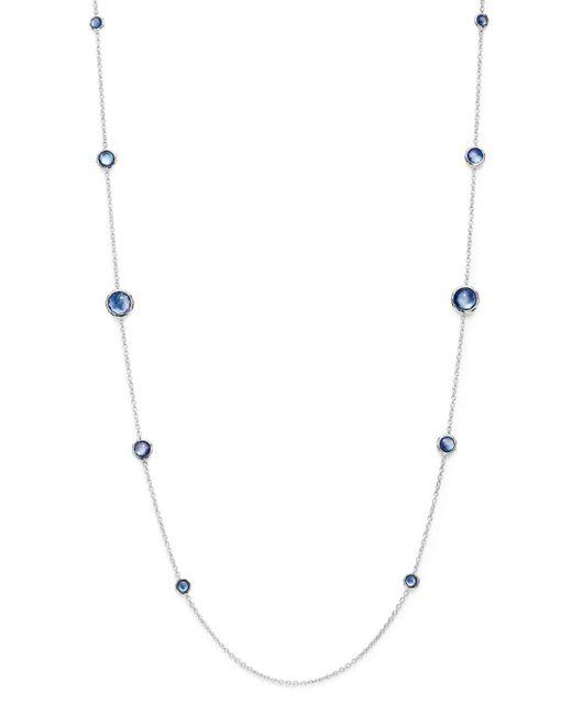Ippolita - Metallic Clear Quartz & Lapis Triplet Necklace - Lyst