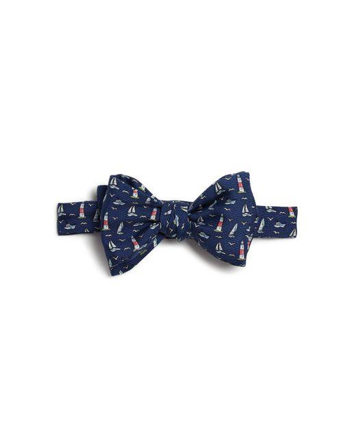 Vineyard Vines | Blue Montauk Lighthouse Self-tie Bow Tie for Men | Lyst