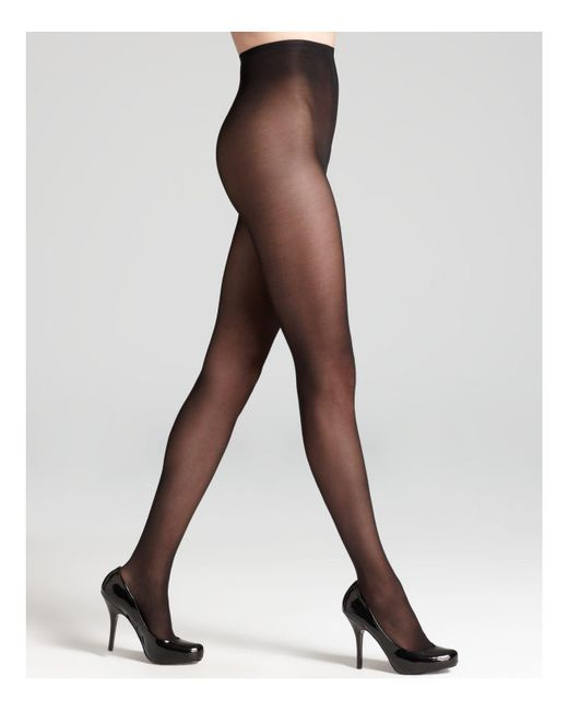 Donna Karan - Black Evolution Seasonless Tights - Lyst