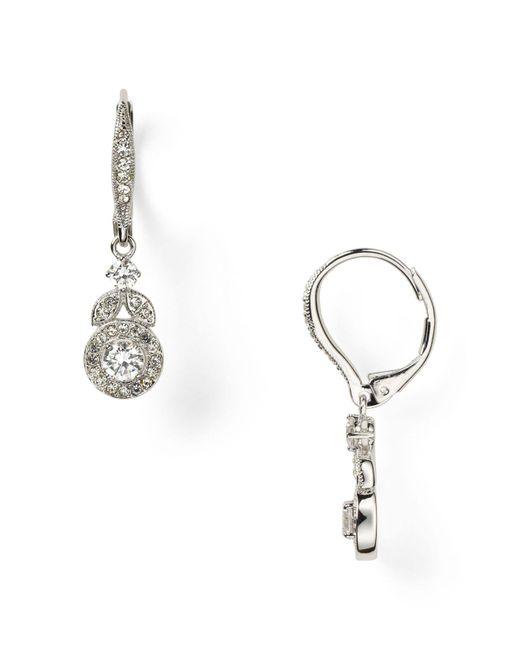 Nadri | Metallic Bridle Vine Leverback Earring | Lyst