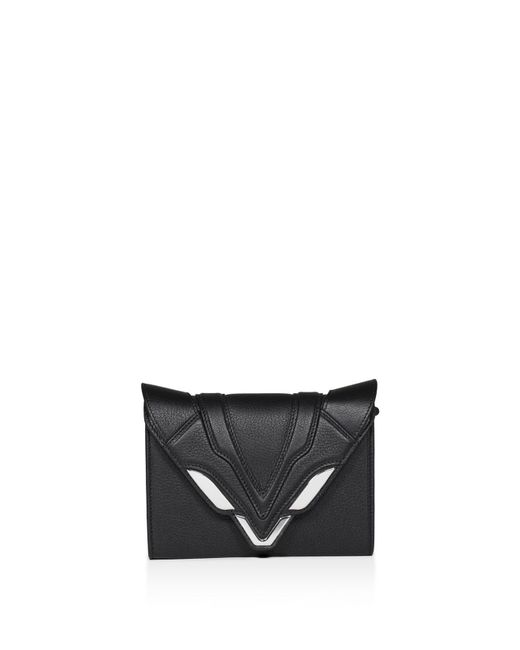 Elena Ghisellini | Black Felina Leather Crossbody | Lyst