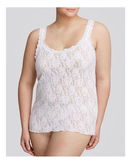 Hanky Panky | White Plus Signature Lace Unlined Cami | Lyst