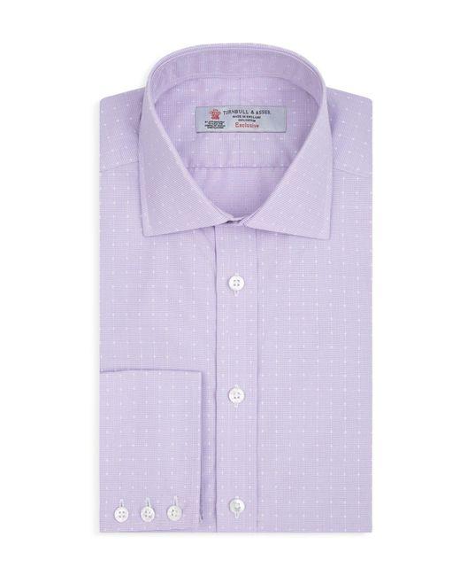 Turnbull & Asser | Purple Dot Regular Fit Dress Shirt for Men | Lyst