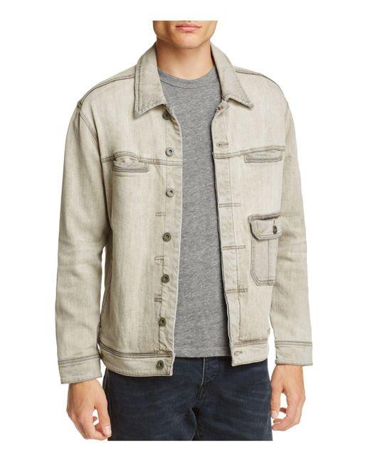Blank NYC | Gray Denim Jacket for Men | Lyst