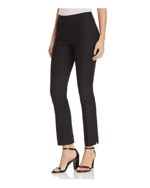 NIC+ZOE | Black Perfect Slim Ankle Pants | Lyst