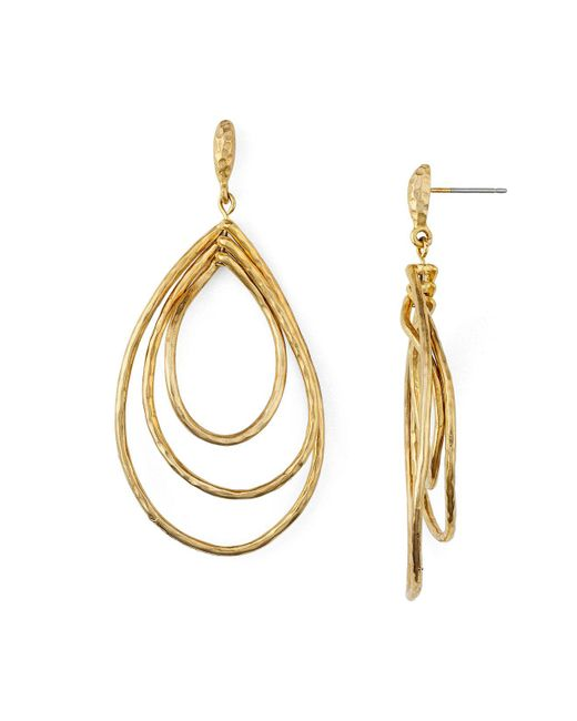 Stephanie Kantis | Metallic Paris Triple Drop Earrings | Lyst