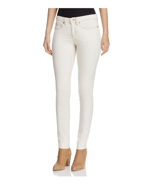 Eileen Fisher | Skinny Jeans In Undyed Natural | Lyst