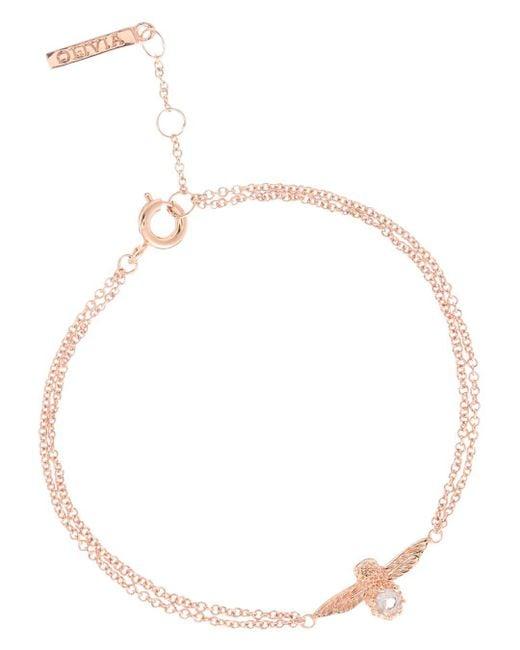 Olivia Burton - Multicolor Bejeweled Bee Bracelet - Lyst