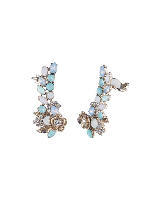 Marchesa | Multicolor Ear Crawler Earrings | Lyst