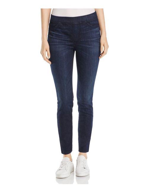 Eileen Fisher | Blue Denim Leggings | Lyst