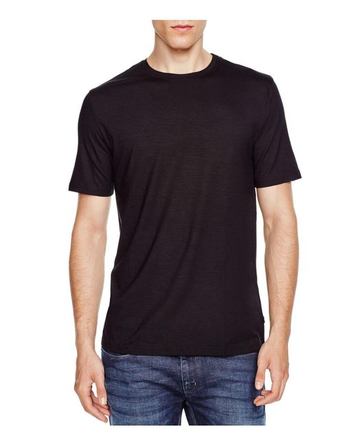 Derek Rose - Black Micromodal Lounge Tee for Men - Lyst