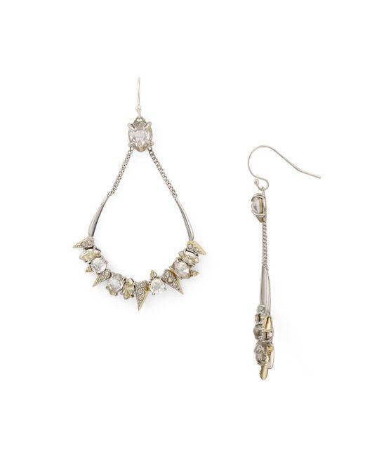 Alexis Bittar | Metallic Mosaic Futuristic Teardrop Earrings | Lyst
