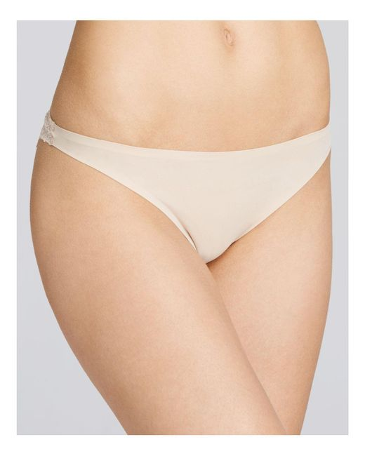Stella McCartney | Pink Smooth & Lace Bikini | Lyst
